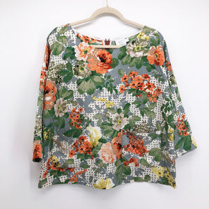 HD IN PARIS Anthropologie Bloomfield Floral Shirt